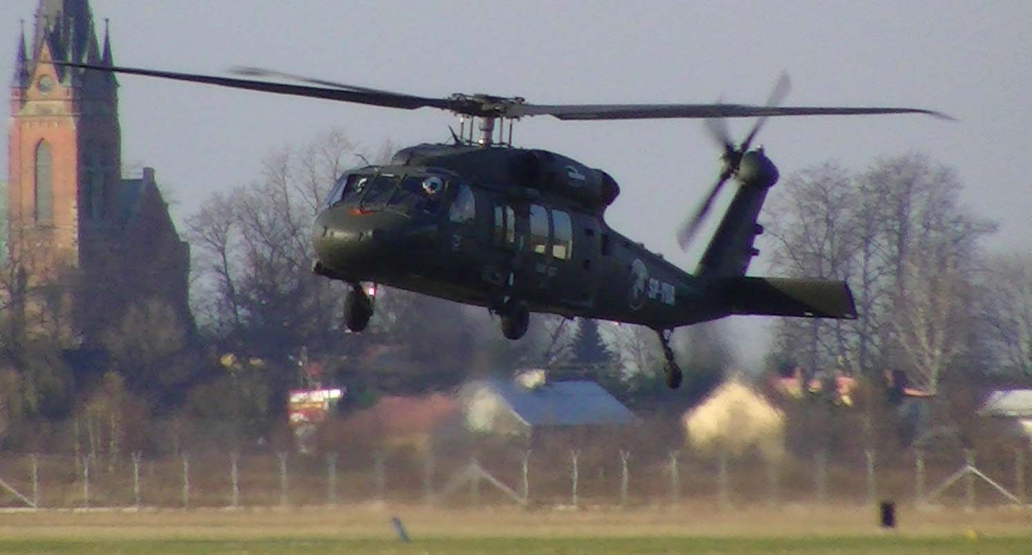 S-70i makes first flight in Poland. Photo from file.