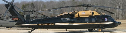 US Army Gold Top VH-60, UH-60, UH-72A