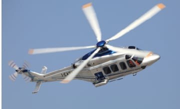 AW139 with Bel Air Aviation