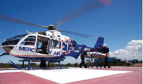 Air Methods EMS Helicopter