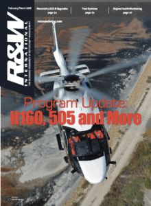 Rotor & Wing International February/March 2018 magazine cover