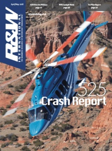 Rotor & Wing International April/May 2018 Issue Cover