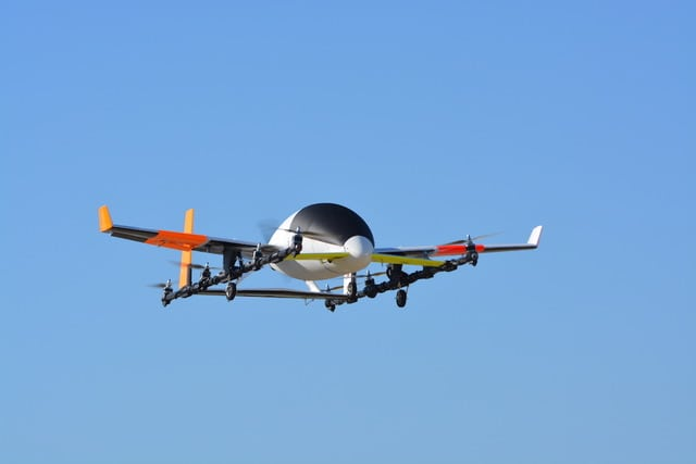 Aurora eVTOL Aircraft_First Flight