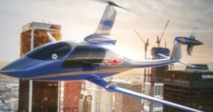 Carter Aviation Technologies teams with Mooney International Corp. for Uber urban air transport aircraft. Image courtesy of Carter.