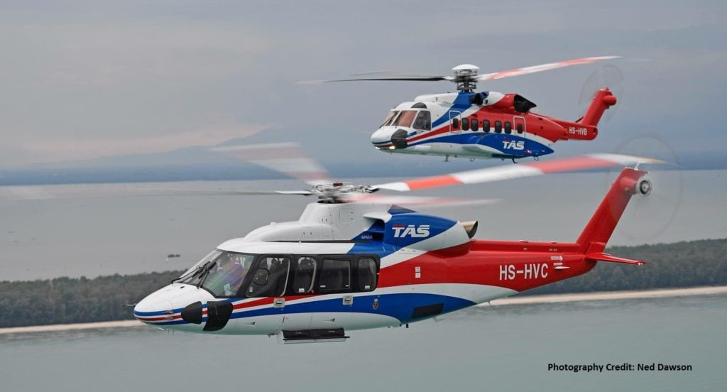 Thai Aviation Services Sikorsky S92 S76