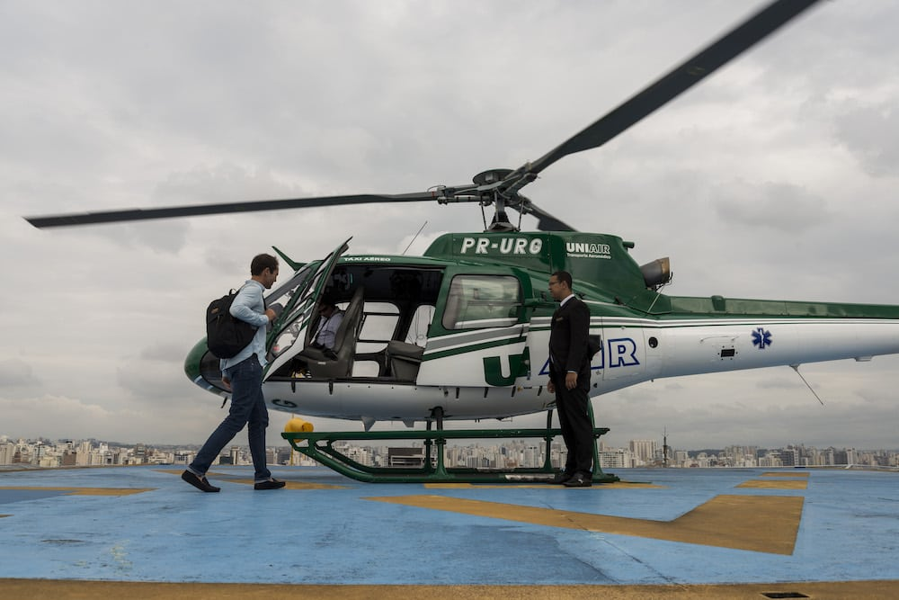 Airbus Voom Helicopter Taxi