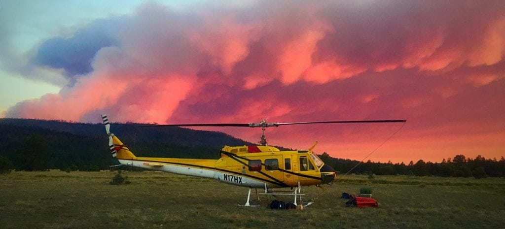 Helicopter Express Bell Helicopter NVG Wildfire