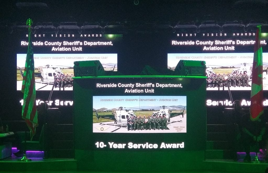 The Night Vision Awards honor those who promote and use night vision goggles.