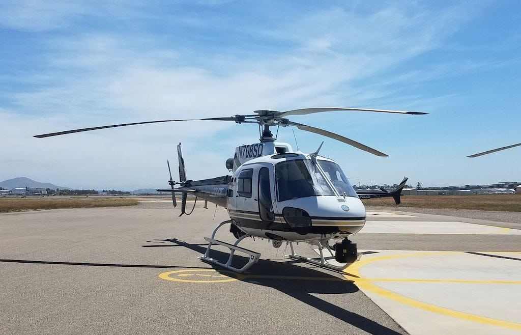 SDPD Helicopter Astar