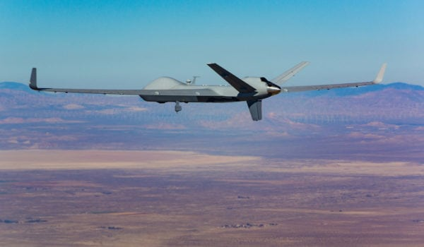 SkyGuardian. Photo courtesy of General Atomics Aeronautical Systems Inc.