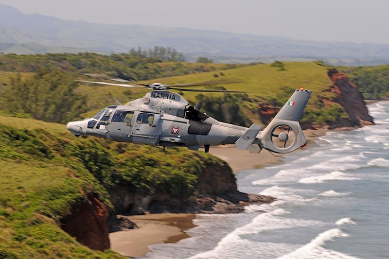 AS565 MBe Panther deliveries to Mexican Navy