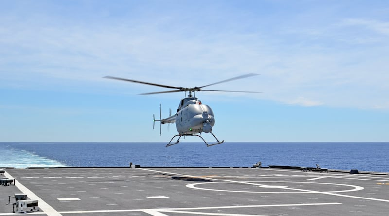 Northrop Grumman MQ-8C Fire Scout. Photo courtesy of Northrop Grumman
