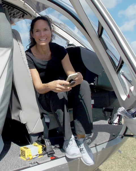 Maria Rodriquez has received the 2018 Helicopter Association International's Salute to Excellence Appareo Pilot of the Year Award.