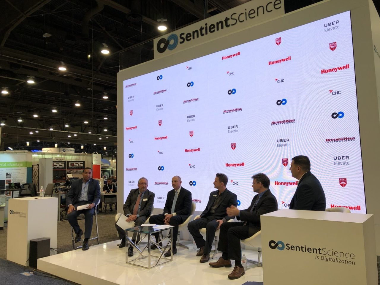 Sentient Science Digitalization Panel Heli-Expo