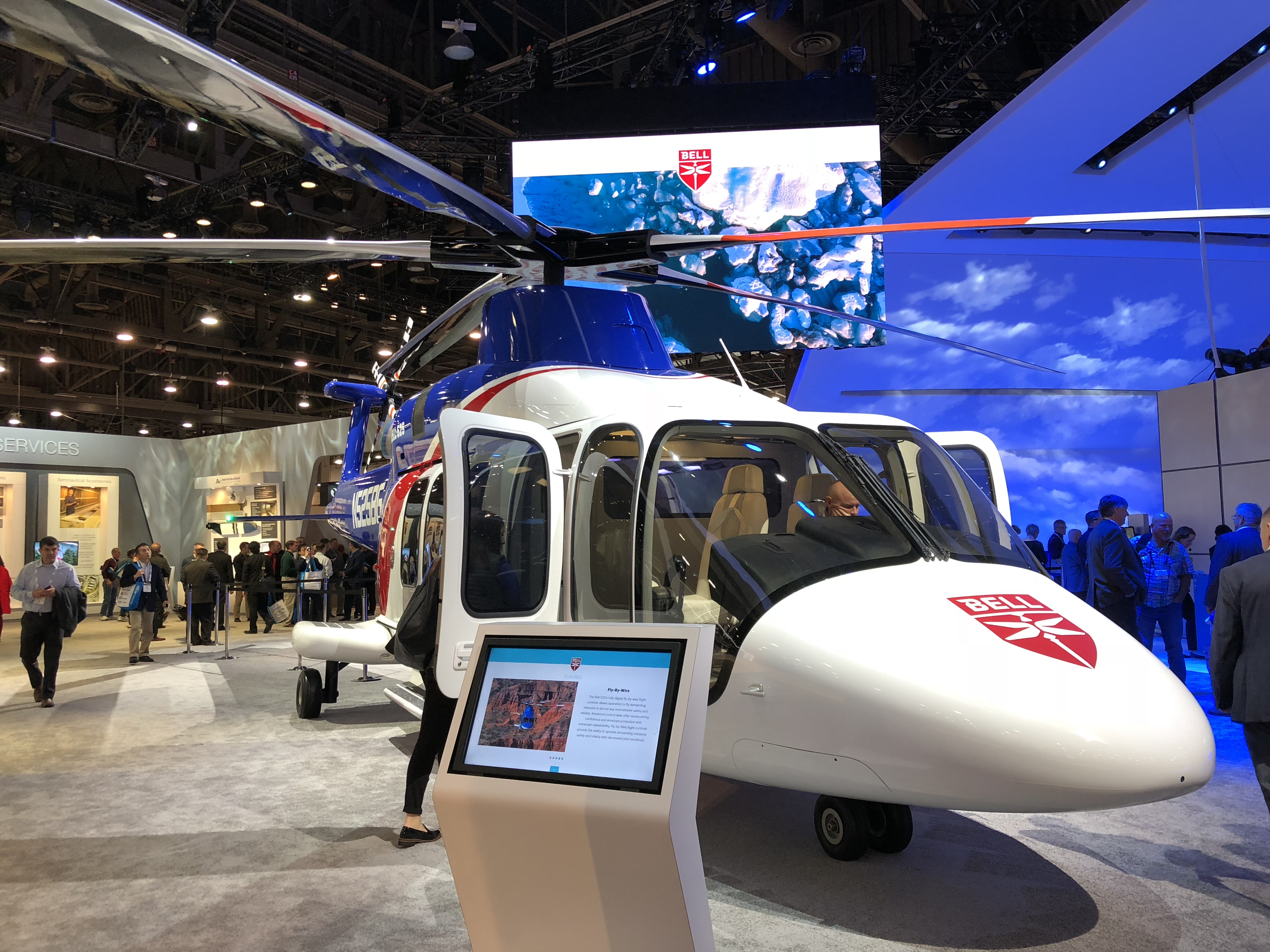 Bell 525 Relentless Helicopter Heli-Expo