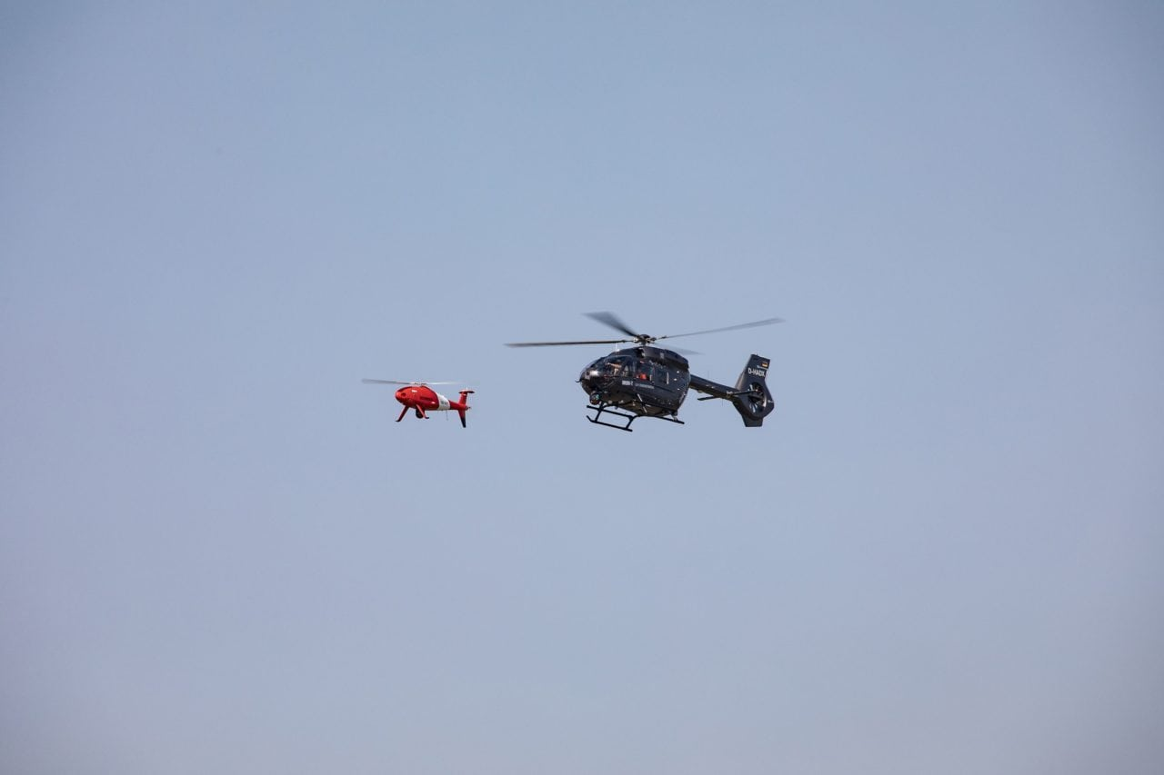 Airbus Schiebel H145 Manned Unmanned Teaming Camcopter
