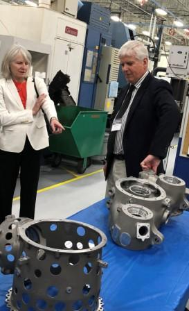 Aero Gear gearbox manufacturer expanded facility