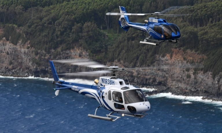 Airbus H125 and H130 from Blue Hawaiian