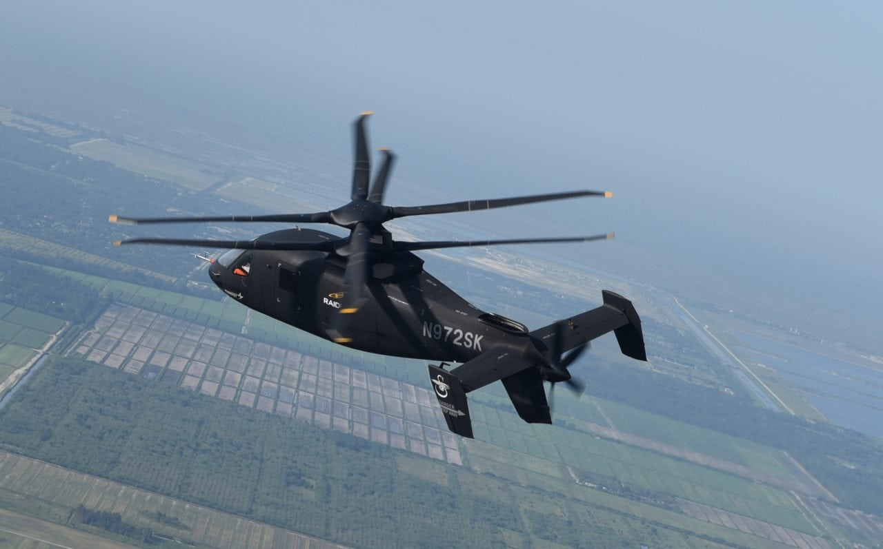 Sikorsky Offers Raider for US Army Attack Reconnaissance Prototype