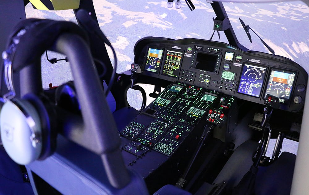 Coptersafety AW139 Simulator