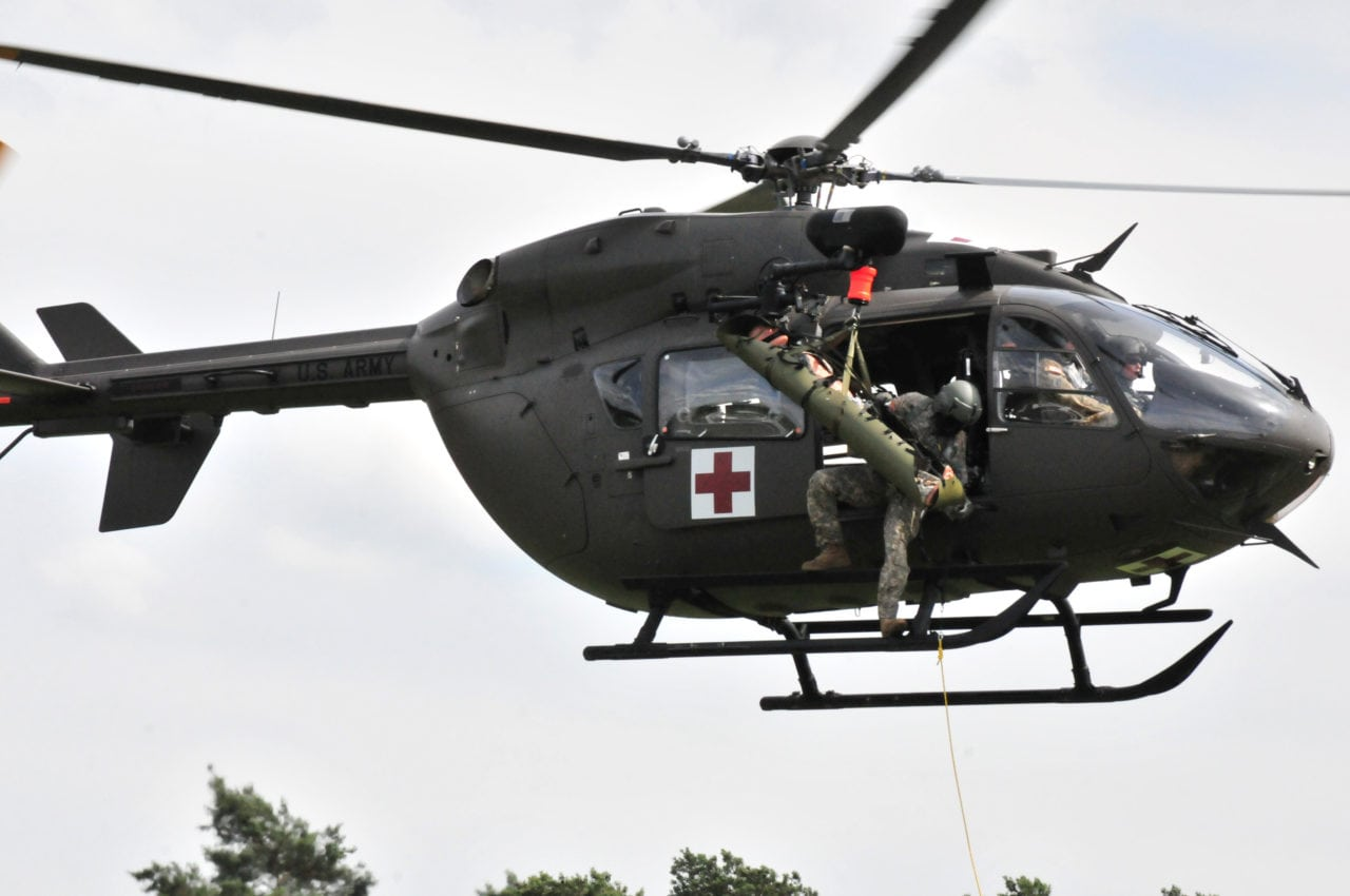 National Guard Pilots support MEDEVAC mission in Germany