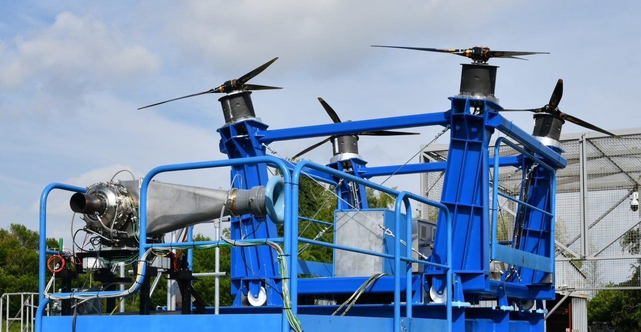 Ground run of Safran's first hybrid electric propulsion system