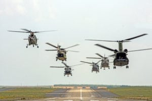 Helicopter COMAO flights