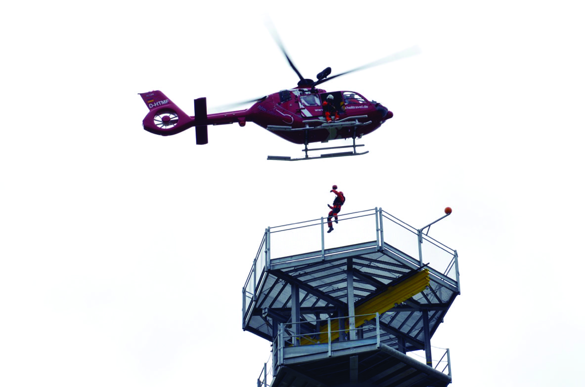 Airbus Helicopters hoist training