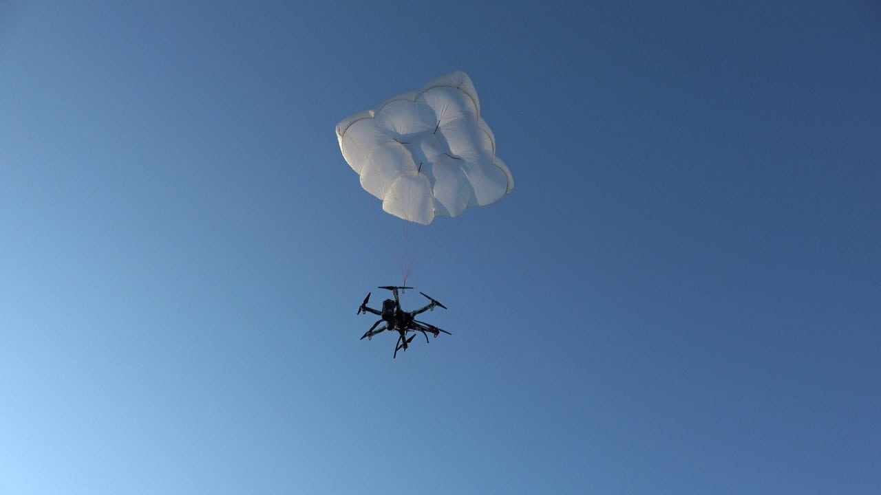 Drone Rescue Systems parachute