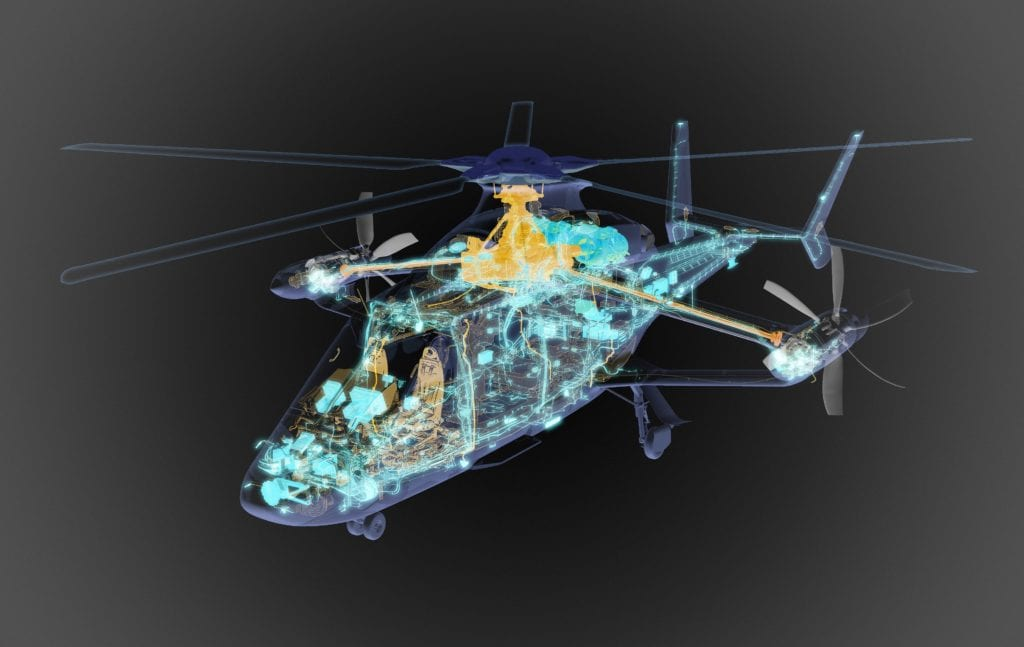 Three-dimensional designs for Airbus' Racer high-speed compound helicopter