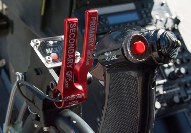 Onboard Systems' Md500 Dual Cargo Hook kit combined dual master cylinder