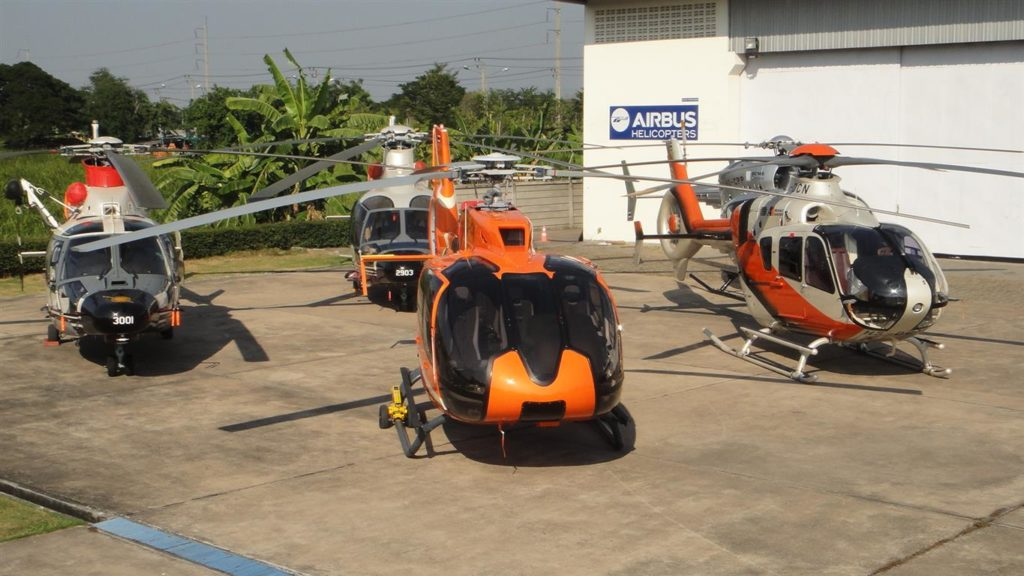 Airbus' facility in Thailand, on the outskirts of Bangkok. (Airbus Helicopters)