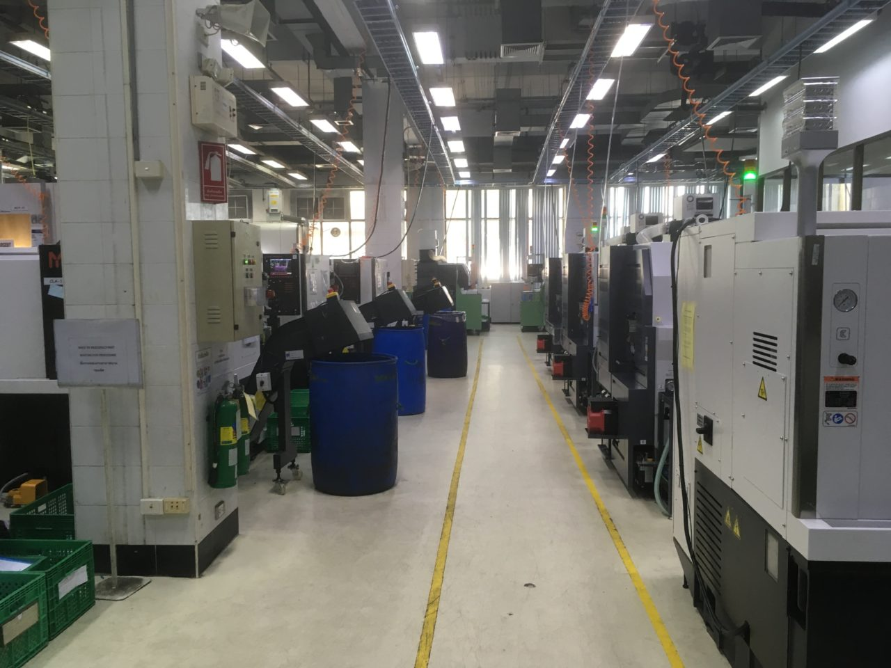The factory floor at CCS Advance Tech.